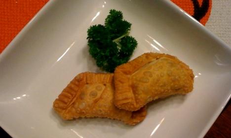 Ball'N Biscuit's vegan chorizo empanadas