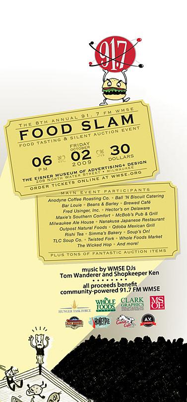 Food Slam Poster