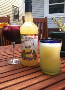 Guiltless ® sangria and  cucumber margarita