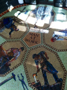 foyer mosaic